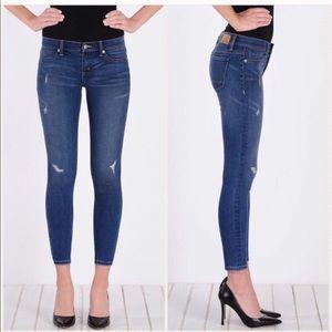 Henry & Belle Super Skinny Ankle Distressed Jeans
